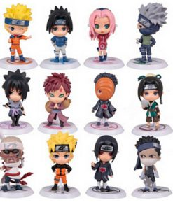 Ensemble 12 Figurines Naruto