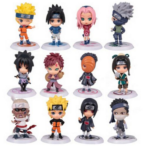 Ensemble 12 Figurines Naruto