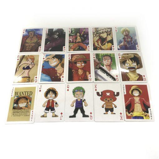 Carte du deck Luffy Roi des Pirates