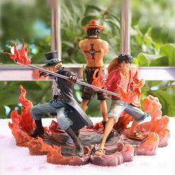 Figurine Luffy Sabo Ace