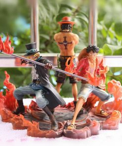 Figurine Luffy Sabo Ace