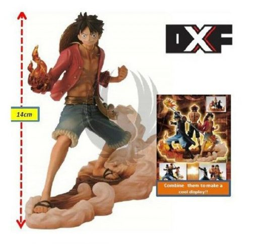 Figurine ensemble de 3 personnages one Piece