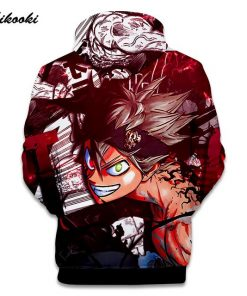Sweatshirt Black Clover 2
