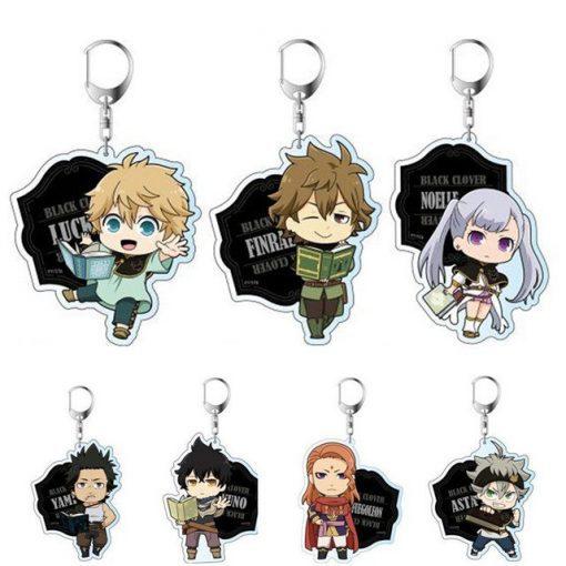 Tous les personnages en porte clés
