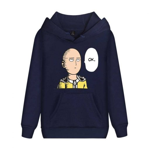 Sweat Bleu Nuit One Punch Man