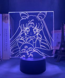 Veilleuse Led Sailor Moon Bleu