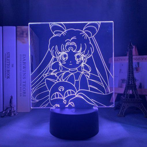 Veilleuse Led Sailor Moon Bleu